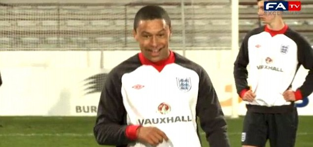 Alex Oxlade-Chamberlain, England U21
