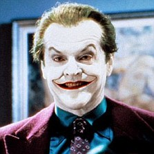 BATMAN, Jack Nicholson's Joker