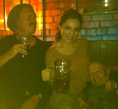 Kelly Brook, Keith Lemon Verne Troyer belfast