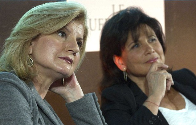 Anne Sinclair, Arianna Huffington
