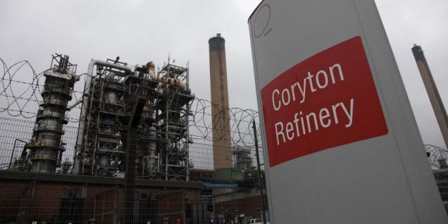 Coryton oil refinery - PwC has been appointed as the administrator