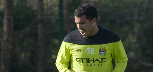 Man City's Carlos Tevez