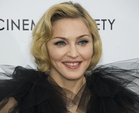Madonna attends the premiere of W.E.