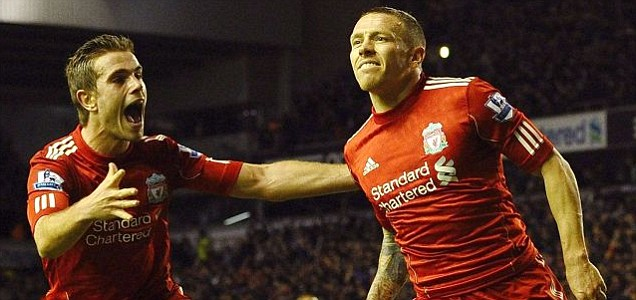 Liverpool's Welsh forward Craig Bellamy