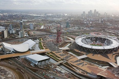Olympic Park Stratford London