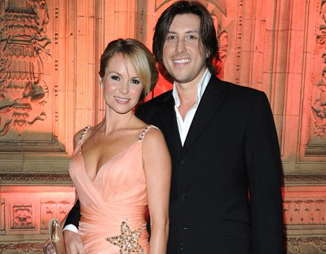Amanda Holden and Chris Hughes