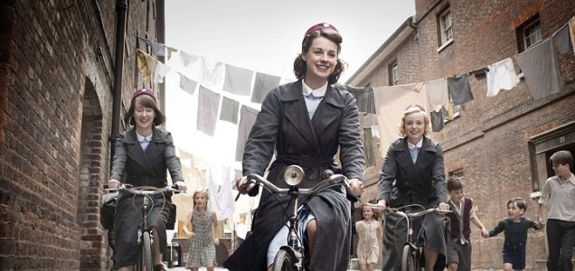 One of Call The Midwife's achingly happy scenes (Picture: BBC)