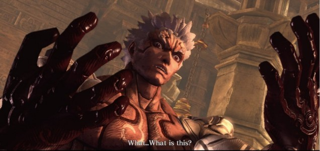 Asura's Wrath - the caption says it all