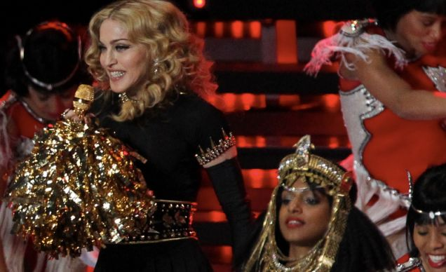 Madonna and MIA 