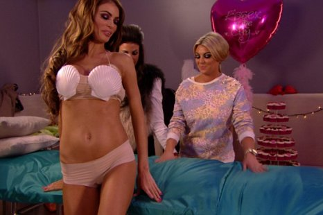 Chloe Sims inevitably strips off in TOWIE (Picture: TOWIE)