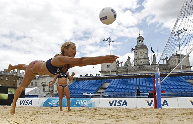 London Olympics 2012 beach volleyball