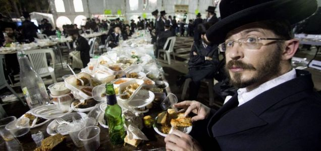 ultra-Orthodox Jewish man