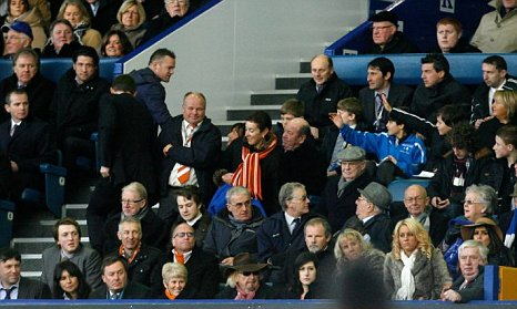 Wayne Rooney Goodison Park Everton v Blackpool