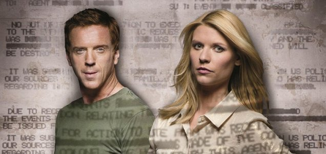 Damian Lewis and Claire Danes shine in this tense thriller (Picture: Channel 4)