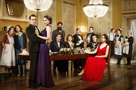 Upstairs Downstairs is a natural rival to Downton Abbey with its tales of servants and masters (Picture: BBC)