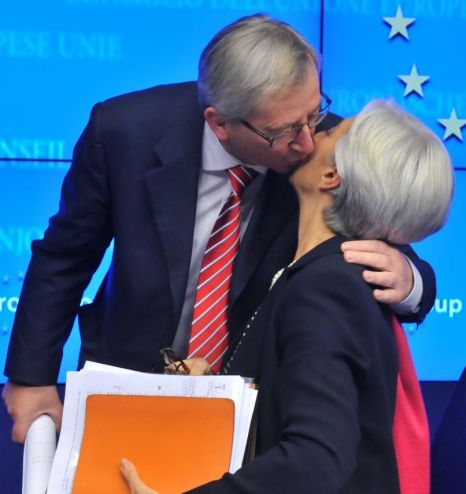 Jean-Claude Juncke, Christine Lagarde
