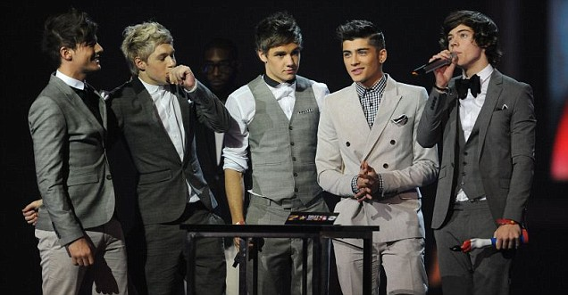 One Direction, Brit Awards