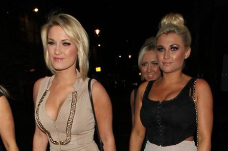 Sam Faiers (left) is back on the singles' market (Picture: XposurePhotos.com)