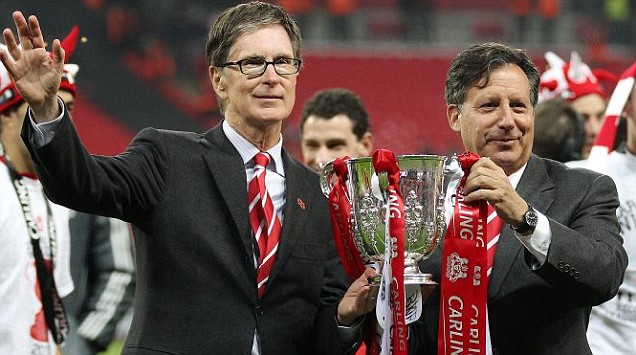 Liverpool's owners John W Henry and Tom Werner