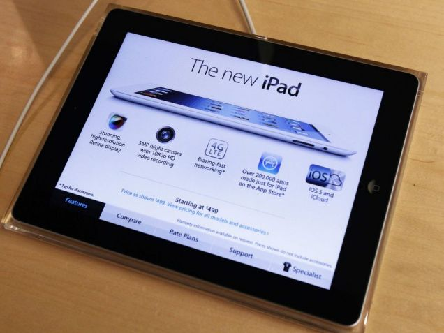 Apple, new iPad