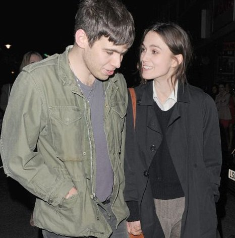 Keira Knightley and James Righto in Soho, London