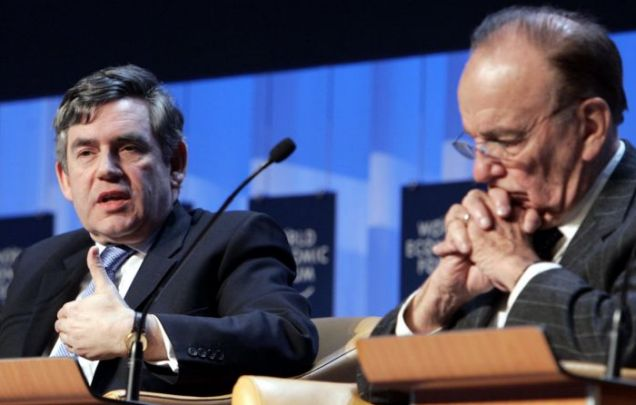 Gordon Brown, Rupert Murdoch