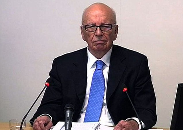 Rupert Murdoch, Leveson Inquiry