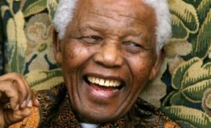 Nelson Mandela is celebrating his birthday in his home village of Qunu (PA)