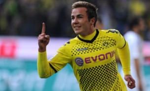 Mario Goetze is a target for Juventus (AFP/Getty Images)
