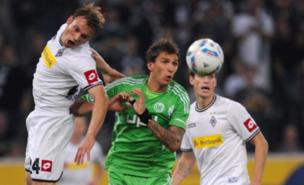 Mario Mandzukic (centre) is wanted by Spurs (AFP/Getty Images)
