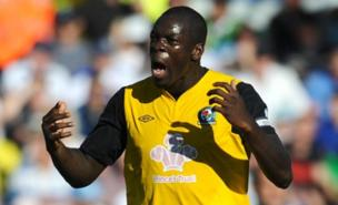 Christopher Samba is in talks with Anzhi over a deadline day move (PA)
