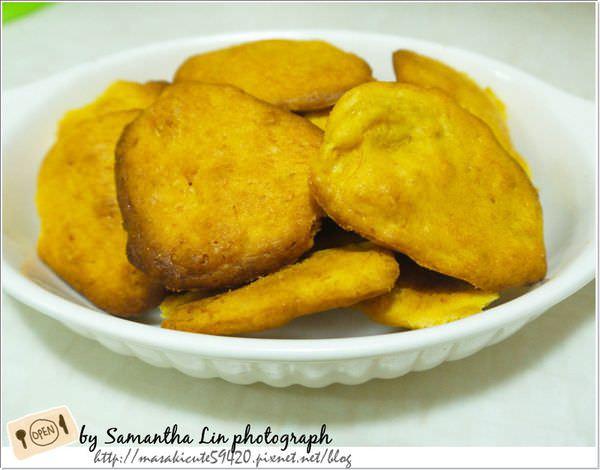 ║烘焙副食品║動手做做看。超簡易南瓜餅乾手指食物(2Y1M)