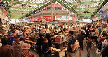 【韓國】東大門-廣藏市場:必吃韓國美食&交通資訊。綠豆煎餅、生章魚、麻藥紫菜飯捲、大麥拌飯超人氣
