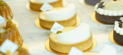 【美食】嘉義║IG熱門甜點店 鐵軌旁的質感咖啡廳 咕咕甜點咖啡 CouCou Cafe Pâtisserie