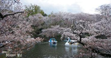 【東京賞櫻景點】櫻花百選~井之頭恩賜公園,可以賞櫻、遊湖、野餐的浪漫景點