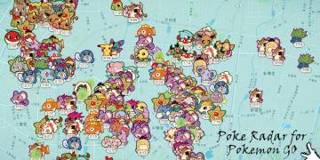 Pokemon Go   超好用寶可夢雷達地圖 清楚搜尋周邊寶可夢位置 / 出沒時間 / 種類 Poke Radar for Pokemon GO