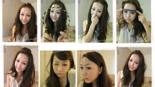 [變髮]夏日8款瀏海變化術,輕鬆變化8種樣貌超easy