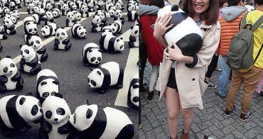 紙熊貓展 ▌「熊貓世界之旅」:我抱到熊貓啦!!萌翻天1600隻紙熊貓在北市政府