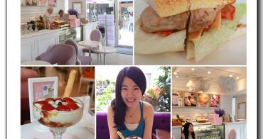 中山區美食▌正餐比甜點迷人~「天糖時尚燉奶甜品」不只有夢幻裝潢,低熱量零負擔的義大利麵及甜點,更是所有女生的最愛x食我app(捷運中山國小站、下午茶餐廳)