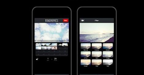 """手機拍攝自己的微電影RoadMovies""""APP誘惑你將生活過得更美好"""