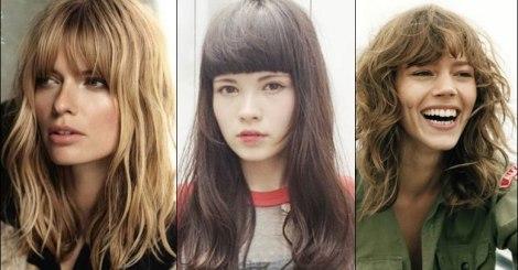 【髮型趨勢】抓住妳的瀏海,依臉型選擇適合自己的髮型