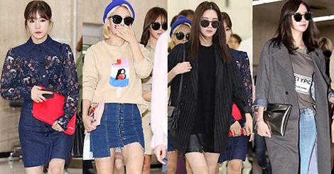 【穿搭教學】少女時代的機場穿搭,全新風格挑逗妳的審美視覺