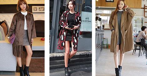 【穿搭教學】長版外套+超短下身!層次穿衣法則瘦身有一套!