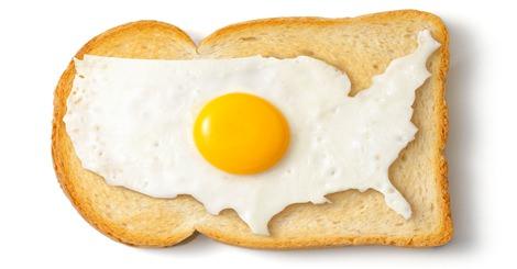除了台灣早餐,妳猜得出這些是哪些國家的早餐嗎~