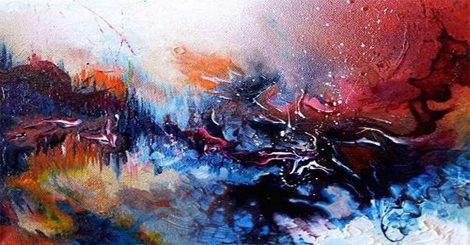 人類無極限,你相信這幅畫是音樂做成的嗎?