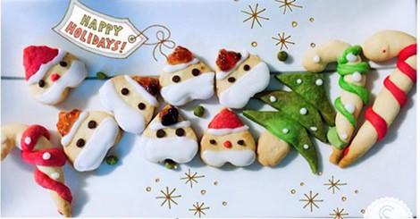 超可愛DIY聖誕風餅乾,讓最重要的那個他心裡暖暖的~