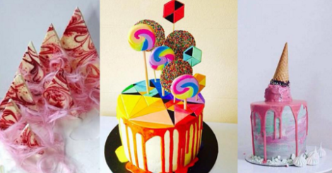 妳絕對不曾看過這種蛋糕,全都出自於她的巧手!