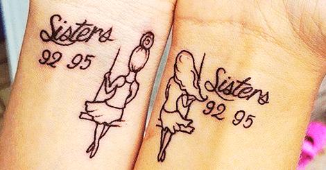 【刺青】專屬於彼此的好姊妹刺青,只有我們懂其中的意義
