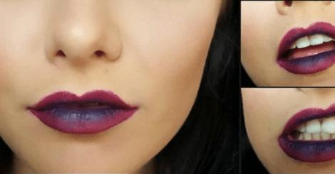 【彩妝】個性風格星空唇彩,只要簡單幾個步驟輕鬆當酷妹!