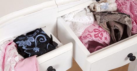 【收納】襪子常常要穿少一隻嗎?胸罩常常忘記丟到哪嗎?超簡單收納法,讓妳出門不再找不到東西!